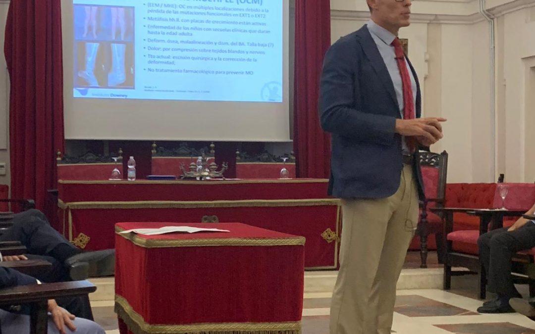 Dr. Javier Downey examinador en el examen EBOT en Lisboa